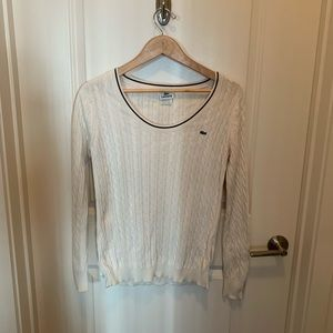 Lacoste sweater size 40